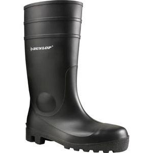 Dunlop Gummistiefel Protomastor 142PP S5 SRA, Halbschaft, PVC, schwarz, Größe 44