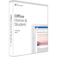 Microsoft Office Home & Student 2019 Box DE Win Mac