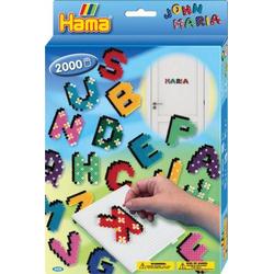 HAMA Geschenkp. Buchstaben 2.000 Stück 3424