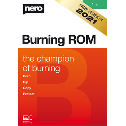Nero Burning ROM 2021 - 1 PC