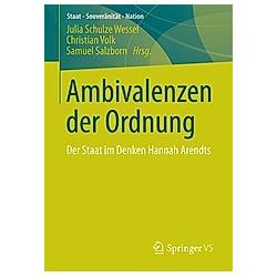 Ambivalenzen der Ordnung - Buch