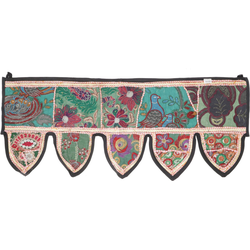 Wandteppich Orientalischer Wandbehang, indischer Toran,.., Guru-Shop, Höhe 30 mm 90 cm x 30 mm