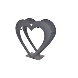 moebel-direkt-online Gartenfigur Rubi, (1 St), aus Metall 61 cm x 56 cm