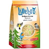 Lillebro 1kg Erdnusskerne gehackt Lillebro Wildvogelfutter