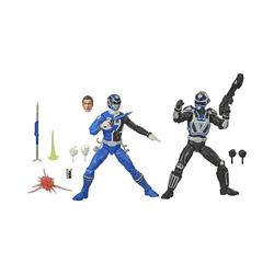 Hasbro Actionfigur Power Rangers LC S.P.D. B-Squad Blauer Ranger Vs