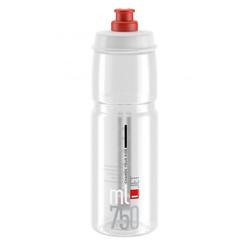 Elite Trinkflasche Trinkflasche Elite Jet 750ml, klar/rot