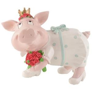Giftcompany Spardose Gift-Company Hochzeits-Sparschweini BRAUTSAU Größe