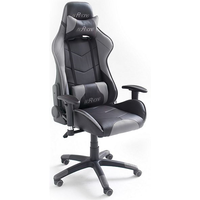 MC Racing 6 Gaming Chair schwarz/grau