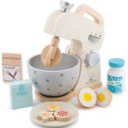 New Classic Toys® Kinder-Rührgerät Bon Appetit - Mixer mit Zubehör, Creme