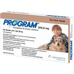 PROGRAM 204,9 mg 7-20 kg Tabletten für Hunde