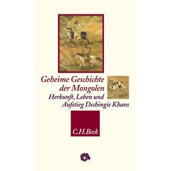 Geheime Geschichte der Mongolen: Buch von Manfred Taube