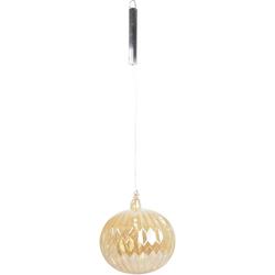 LED Dekolicht Glaskugel, mit 20 Lichtern und Timer