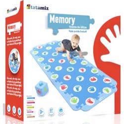 tatamitz Puzzle Krabbel Memory, Puzzlematte, Bodenpuzzle bunt Kinder Ab 3-5 Jahren Altersempfehlung