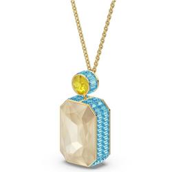 Swarovski Kette mit Anhänger Orbita Halskette, Kristall im Octagon-Schliff, 5600516, mit Swarovski® Kristall bunt