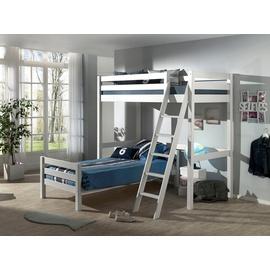 Vipack Hochbett Pino mit Einzelbett