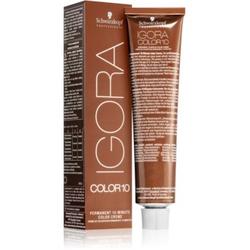 Schwarzkopf Professional IGORA Color 10 Permanente Haarfarbe mit 10 Minuten Einwirkzeit 6-65 60 ml