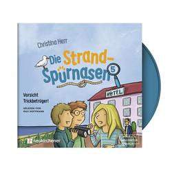 Die Strandspürnasen 5 - Vorsicht Trickbetrüger! - Hörbuch als Hörbuch CD von Christina Herr