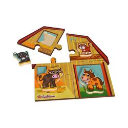 Eichhorn Steckpuzzle 2 Level Puzzle, Puzzleteile