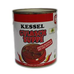 Hesco Kessel Gulaschsuppe deftig-rustikal (850ml Dose)