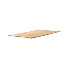 Sieger Teakholz-Tischplatte L 220 cm/B 100 cm