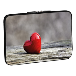 PEDEA Design Schutzhülle 13,3 Zoll (33,8 cm) Laptop Notebook Tasche Hülle, love