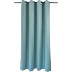 Vorhang Dimout, Kutti, Ösen (1 Stück), Vorhang Dimout blau 140 cm x 175 cm
