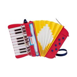 Bontempi Spielzeug-Musikinstrument Akkordeon, 17 Tasten