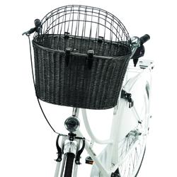 Trixie Front-Fahrradkorb Rattan anthrazit