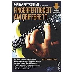 E-Gitarre Training. Jörg Sieghart  - Buch