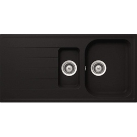 Respekta Orlando 1,5 100 x 50 cm schwarz + Excenterbetätigung