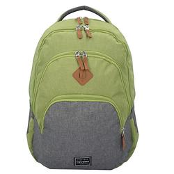 Basic Rucksack 45 cm Laptopfach Laptop-Rucksäcke grün