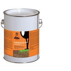 LOBA LOBASOL® Deck & Teak Oil Color Spezialöl, Holzschutzöl für den Außeneinsatz, 2,5 l - Eimer, Douglasie