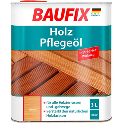 Baufix Teakholzöl Farblos, 3 Liter, transparent