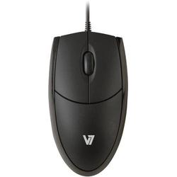 V7 Videoseven MV3000010-BLK-5E USB Maus Optisch Schwarz