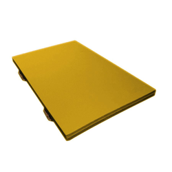 Kiga Turnmatte gelb - 150 x 100 x 6 cm