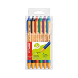 STABILO Kugelschreiber Kugelschreiber pointball, 6 Farben