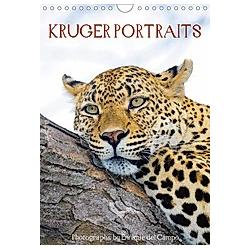 KRUGER PORTRAITS (Wall Calendar 2021 DIN A4 Portrait)