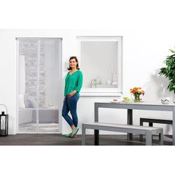 empasa Insektenschutz-Tür, Klemm-Magnet-Lamellenvorhang weiß