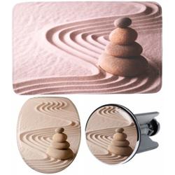 3-teiliges Badezimmer Set Zen