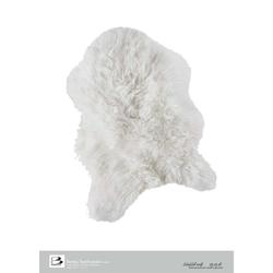 Bertels Microfaser Teppich Schafsfell Weiß