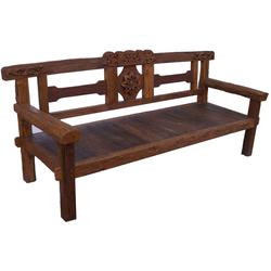 Guru-Shop Stuhl Rustikale Gartenbank - Modell 12