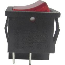 SCI Wippschalter R13-33B-02RT 250 V/AC 6A 1 x Aus/Ein rastend