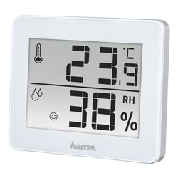 Thermo-/Hygrometer »TH-130«, Hama, 10x8.2x1.1 cm