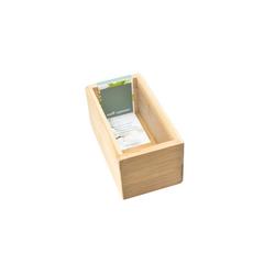 HTI-Living Aufbewahrungsbox Aufbewahrungsbox Bambus, Aufbewahrungsbox 15 cm x 7 cm x 8 cm