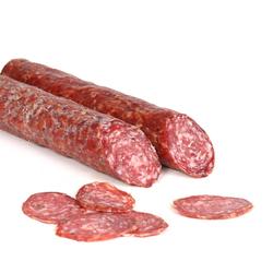 Rinner Knoblauchsalami aus Südtirol - Salami aus Schweinefleisch mit Knoblauc...