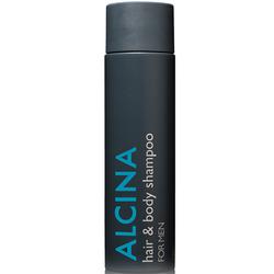 Alcina For Men Hair & Body Shampoo 250 ml