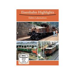 Eisenbahn Highlights Elektro Lokomotiven DVD