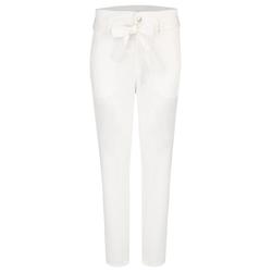 ANGELS Hose,Gwen' mit Bindegürtel weiß Damen Hosen lang