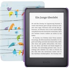 Amazon Kindle Kids Edition 8 GB + Hülle Regenbogenvögel