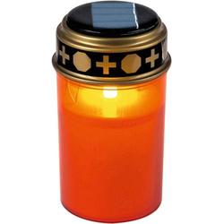 Heitronic 35960 Solar-Grablicht LED Rot